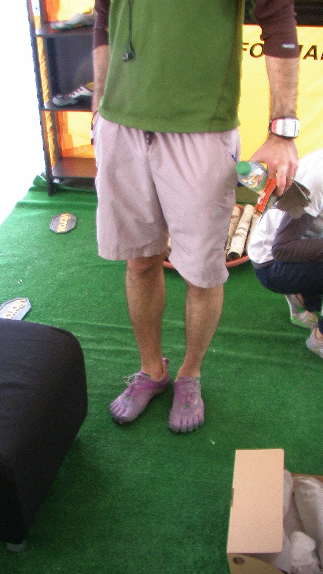 Les jolis pieds d'Adrien W à l'EcoTrail de Paris 2011